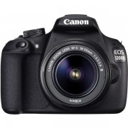 Aparat foto digital Canon EOS 1200D kit EF-S 18-55 DC III : 18 MPx, LCD 3, 3 fps, Full HD
