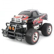 V-Thunder Pickup Electric RC Truck Big 1:14 Scale Size Off Road Series RTR w/ Working Suspension Spring Shock Absorbers (Colors May Vary)
