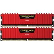 Kit Memorie Corsair Vengeance LPX Red 2x4GB DDR4 4133MHz CL19 Dual Channel