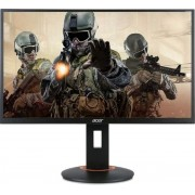 "Monitor Gaming LED Acer 27"" XF270H, Full HD (1920 x 1080), HDMI, DVI, DisplayPort, 1 ms, 144Hz, Boxe, Pivot (Negru)"