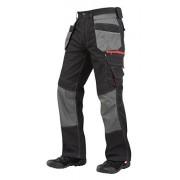 Lee Cooper Workwear Men's Holster Pocket Regular Cargo Pant - Black, 42W