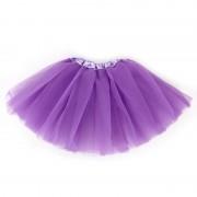 Dolly tutu sukňa pre dievčatká fialová