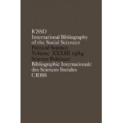 IBSS 1984: Political Science Vol. 33 by International Committee for Social Sciences Documentation