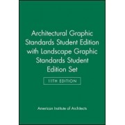 Architectural Graphic Standards AND Landscape Graphic Standards by American Institute of Architects