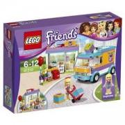 Конструктор ЛЕГО Френдс - Доставки на подаръци Хартлейк, LEGO Friends, 41310