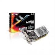 MSI SCHEDA VIDEO MSI N210-MD1GD3H/LP - CHIP NVIDIA GEFORCE 210 - MEMORIA: 1 GB DDR3 - INTERFACCIA: PCIEXPRESSX16 2.0 - USCITA: VGA - DVI E HDMI - LOW PROFILE