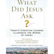 What Did Jesus Ask?: Christian Leaders Reflect on His Questions of Faith by Elizabeth Dias