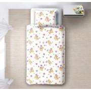 Бебешко спално бельо - Мечета-розови