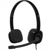 Auriculares Con Micrófono Logitech H151 Stereo-Negro