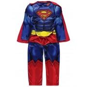 Costum carnaval baieti Superman de lux cu licenta
