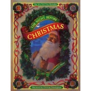 The Night Before Christmas (board book) by Clement Moore