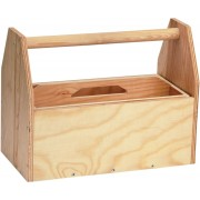 Red toolbox Houtwerk kit: gereedschapskist