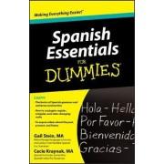 Spanish Essentials For Dummies(R) by Gail Stein