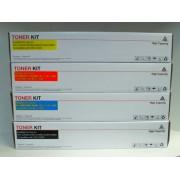 Vorteilspack 4 St. Toner Kartuschen passend f. OKI C3300 , C3400 , C3450 , C3600 kompatibel