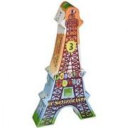 Vilac Set Of 3 French Landmark Puzzles
