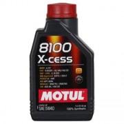 Motul 8100 X-cess 5W-40 1 Litres Boîte