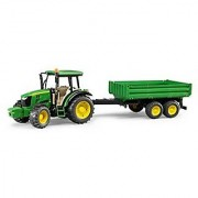 Bruder John Deere 5115M Vehicle with Trailer
