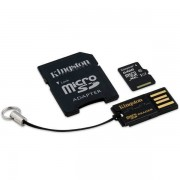 Card Kingston Micro SDXC 64GB Clasa 10 USB 2.0 SD Adaptor