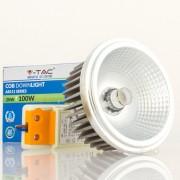 Lâmpada LED AR111 20w»100W 20º Luz Quente 1.500Lm