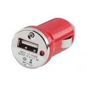 Auto punjač USB 1A E-11 crveni