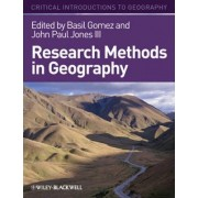 Research Methods in Geography by John-Paul Jones