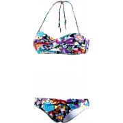 Beachlife Bandeau Bikini Damen mehrfarbig, Größe 36 / B