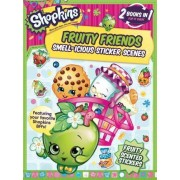 Shopkins Fruity Friends/Strawberry Kiss (Sticker and Activity Book) by Little Bee Books