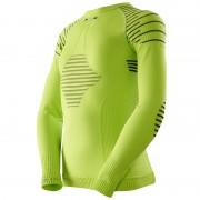X-Bionic Invent Shirt L/S Junior green lime/black 128-134 Langarm Shirts