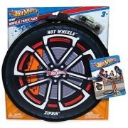 Hot Wheels ZipBin Wheelie 100 Car Case w/ Car
