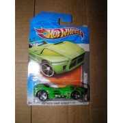 Hot Wheels, Night Burner, Hot Wheel Video Game Heroes, 2011, #238, 16 Of 22