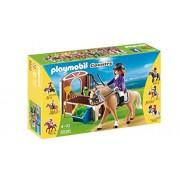 Playmobil Coleccionables - Caballo de exhibición con establo, playset (5520)