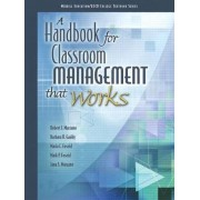 A Handbook for Classroom Management That Works by ASCD