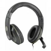 Defender Warhead HN-G110 Headphones - гейминг слушалки с микрофон за настолни компютри и лаптопи (черен)