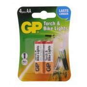 Baterie AA (R6) ultra plus alcalina dedicata pentru torch si bike light