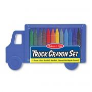 Melissa & Doug Truck Crayon Set - 4159