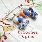 Brooches & Pins by Louise Compagnone