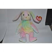 Hippie the Pastel Ty-Dyed Bunny Rabbit - MWMT Ty Beanie Babies
