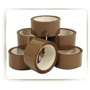 2 WIDE 200Mtrs -PACK OF 5 ROLLS- ORIGINAL BROWN CELLO TAPE FOR PACKING HOME USE