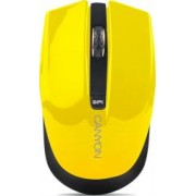 Mouse Wireless Optic Canyon CNS-CMSW5 800dpi Galben