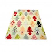 Одеяло df печат PNG ,Коледна гора' 130/170 см
