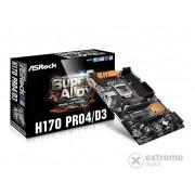 Placă de bază ASRock H170 PRO4/D3 s1151