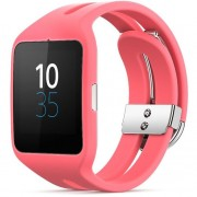 Ceas Smartwatch Sony 3 SWR50 Silicon Pink