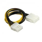 Cablu prelungitor Goobay 8-pini EPS12V, 28cm
