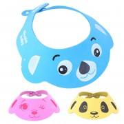 35 * 30CM Baby Care Resizable Shampoo Cap Baby Child Bath Shower Face Eye Protect Waterproof Cartoon Shower Cap