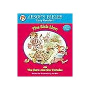 Aesops Fables Easy Readers - The Sick Lion: with The Hare and the Tortoise
