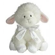 Aurora Baby Blessings Wind Up Musical Plush Lamb
