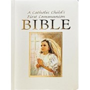 Catholic Child's First Communion Gift Bible by Victor Fr Hoagland