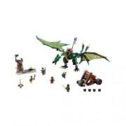 Lego NINJAGO - Zielony smok NRG 70593