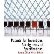 Patents for Inventions by Patent Office