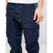 G-Star Rovic Zip PM 3D Tapered Trouser Blue Camo - Blue